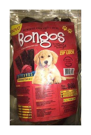 Petisco Bifinhos para Cães Bongos sabor carne