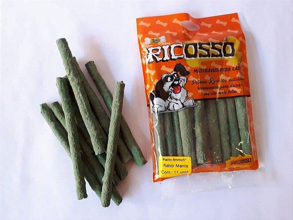 Palitos Flexíveis Ricosso sabor menta - 350g