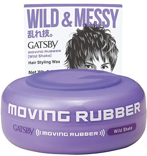 Gatsby Moving Rubber Wild Shake Hair Wax 80g