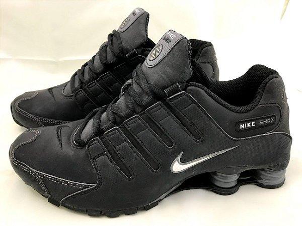 Nike Shox NZ Masculino Preto 8.5