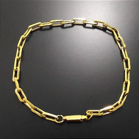 e2eecb61146 Pulseira Cartier Banhada a Ouro 18K