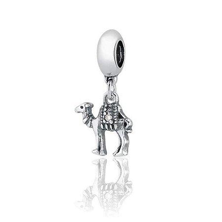 Berloque de Prata Pingente Camelo