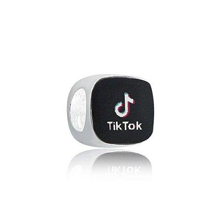 Berloque de Prata TikTok