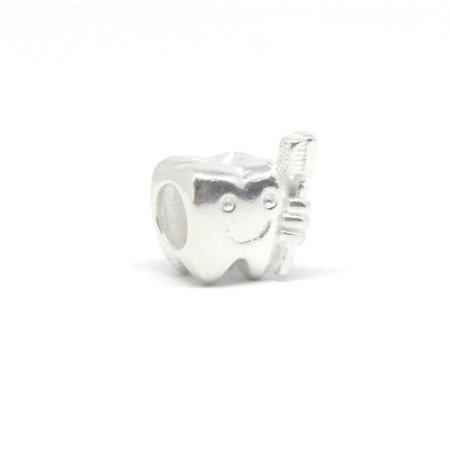Berloque de Prata Dente