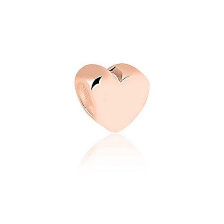 Berloque Rosé Separador Coração