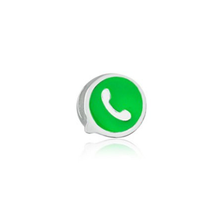Berloque de Prata Whatsapp