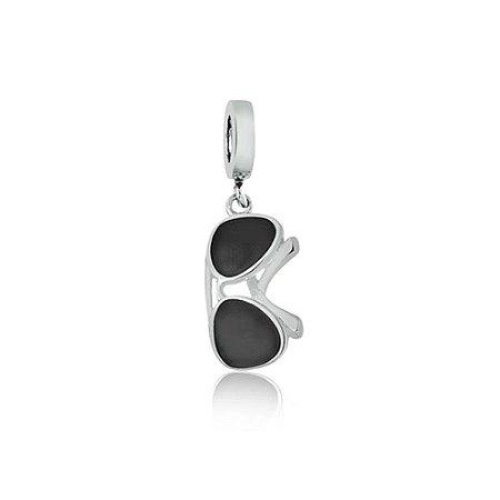 Berloque de Prata Óculos Ray Ban Aviador
