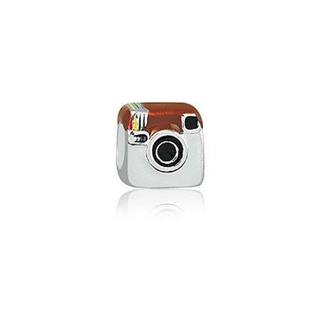 Berloque de Prata Instagram Retrô