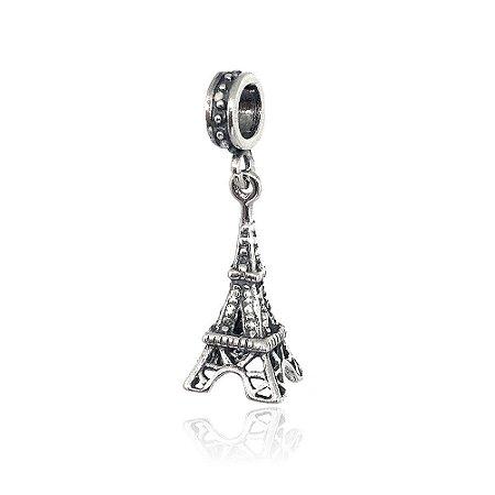 Berloque de Prata Pingente Torre Eiffel