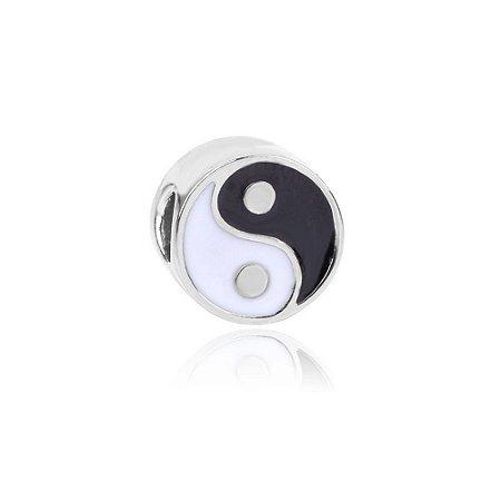 Berloque de Prata Yin Yang