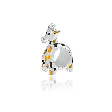Berloque de Prata Girafa