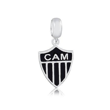 Berloque de Prata Pingente Atlético Mineiro