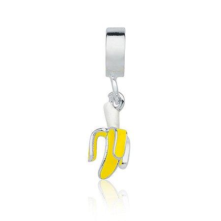 Berloque de Prata Banana