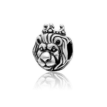 Berloque de Prata Rei Leão