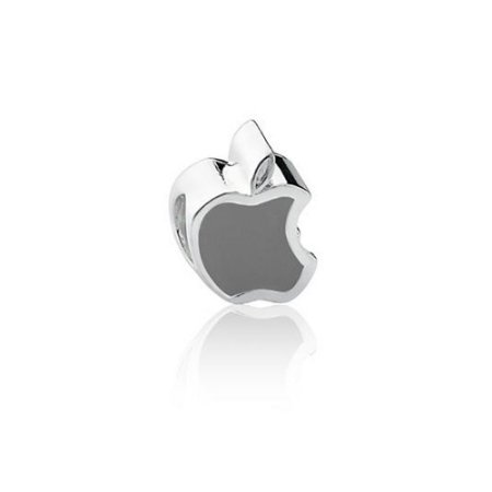 Berloque de Prata Maçã Apple