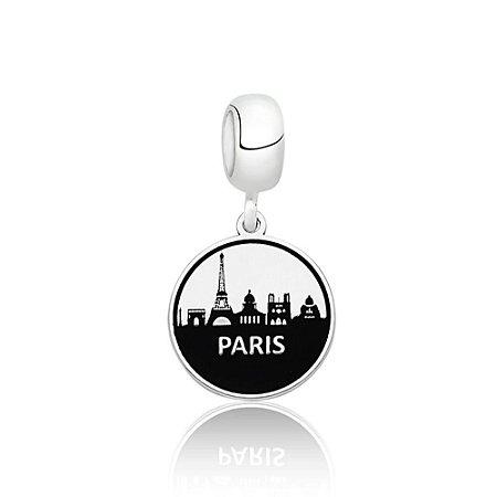 Berloque de Prata Cidade Paris França