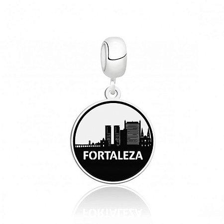 Berloque de Prata Cidade de Fortaleza CE