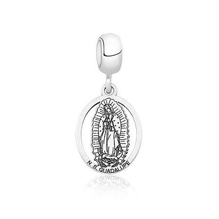 Berloque de Prata Nossa Senhora de Guadalupe