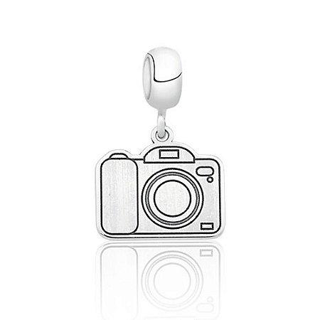 Berloque de Prata Máquina Fotográfica