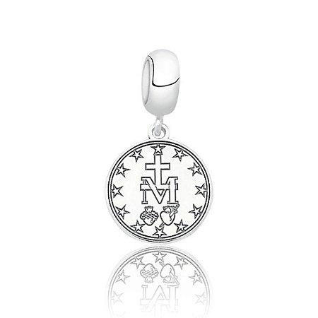 Berloque de Prata Medalha Milagrosa