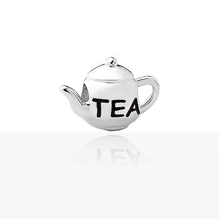 Berloque de Prata  Bule de Chá