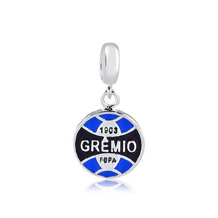 Berloque de Prata Pingente Grêmio