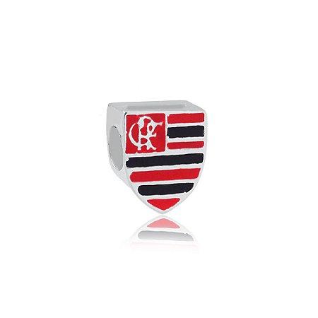 Berloque de Prata Separador Flamengo