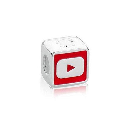 Berloque de Prata YouTube
