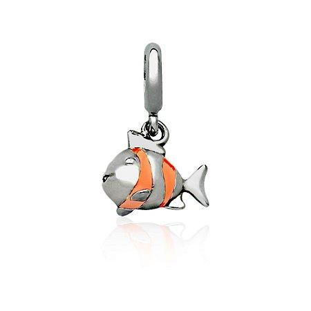 Berloque de Prata Peixinho Nemo