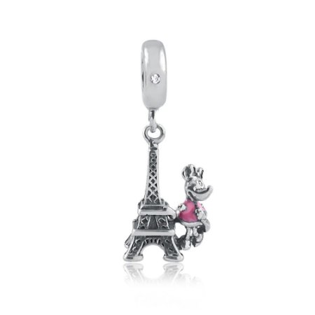 Berloque de Prata Torre Eiffel Minnie