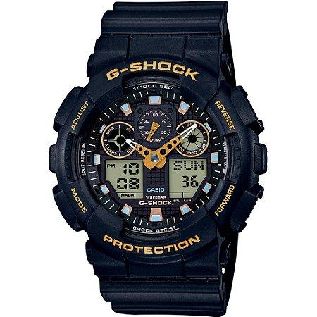 Relogio Casio G-SHOCK GA-100GBX-1A9DR