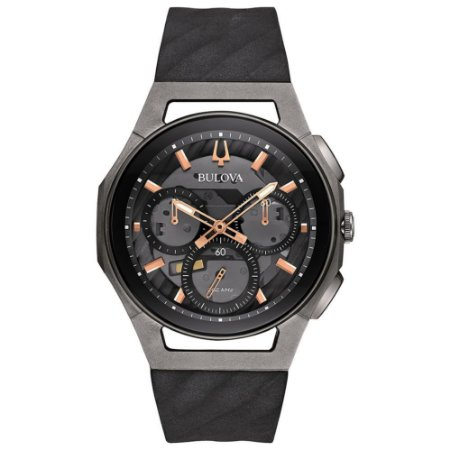 Relógio Bulova Curv Titanium Precisionist Quartz Masculino 98a162