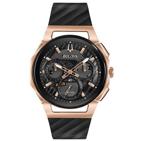 Relógio Bulova Curv Precisionist Quartz Masculino 98a185