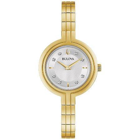 Relógio Bulova RHAPSODY Diamond 97p144 feminino