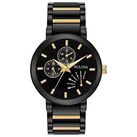 Relógio Bulova Modern Quartz 98c124 masculino