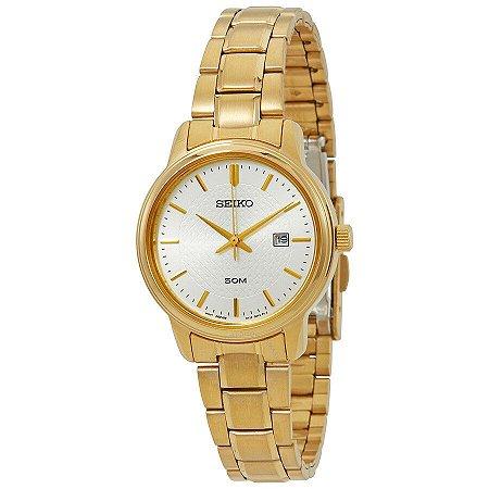 Relógio Seiko Quartz feminino SUR744B1