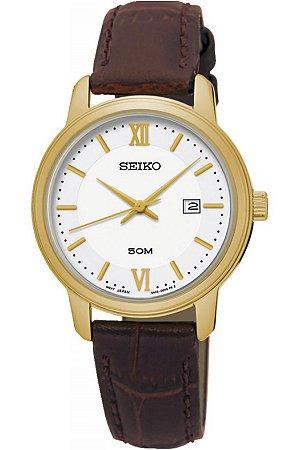 Relógio Seiko Quartz feminino SUR742B1