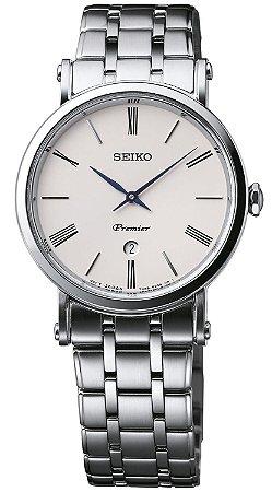 Relogio Seiko Premier Quartz Safira Sxb429b1 Feminino