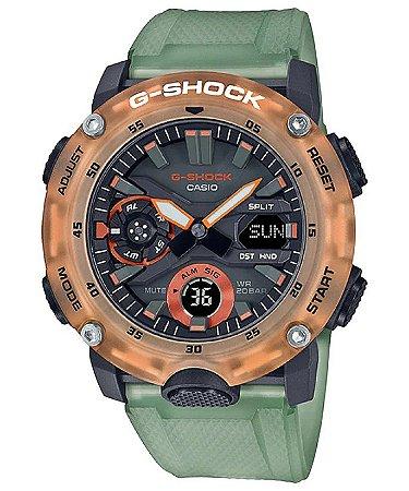 Relogio Casio G-SHOCK Carbon Core Guard GA-2000-1A2DR HIDDEN COAST