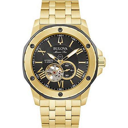 Relógio Bulova Marine Star automático 98A273 masculino