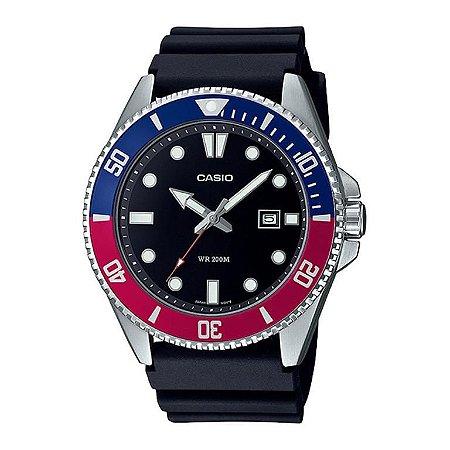 Relógio Casio Duro 200M Masculino Mdv-107-1a3vdf
