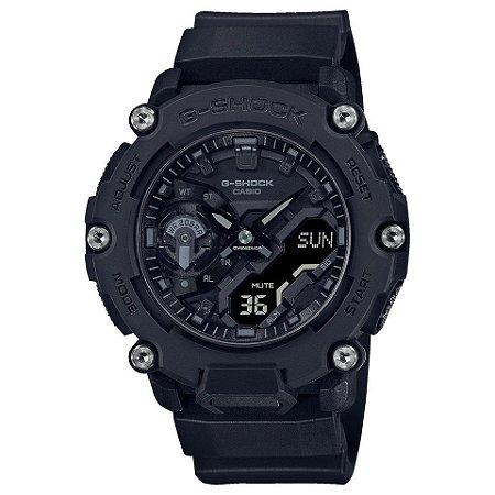 Relogio Casio G-SHOCK Carbon Core Guard GA-2200BB-1ADR ALL BLACK
