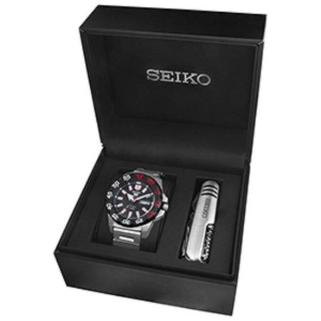 Relogio Seiko 5 Sports Automático SRP487B1 MONSTER gift box