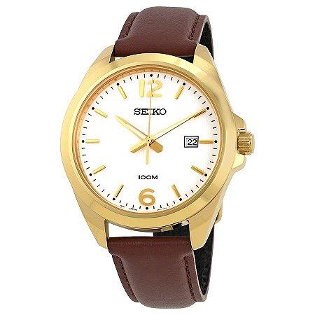 Relógio Seiko Quartz SUR216B1 Masculino
