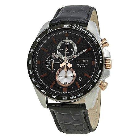 Relógio Seiko cronograph QUARTZ SSB265B1 masculino