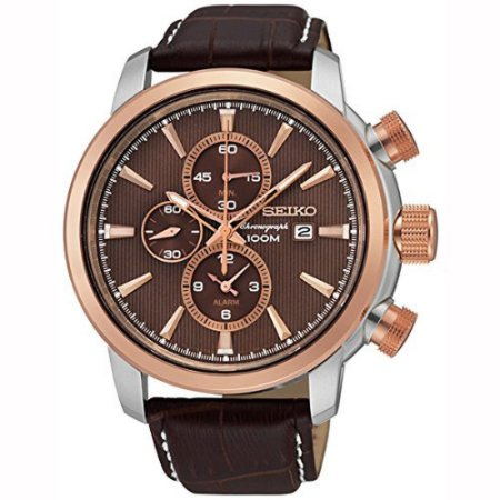 Relógio Seiko cronograph Quartz Snaf52B1 masculino