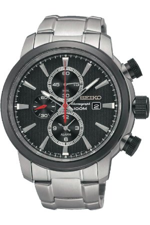 Relógio Seiko cronograph QUARTZ Snaf47B1 masculino