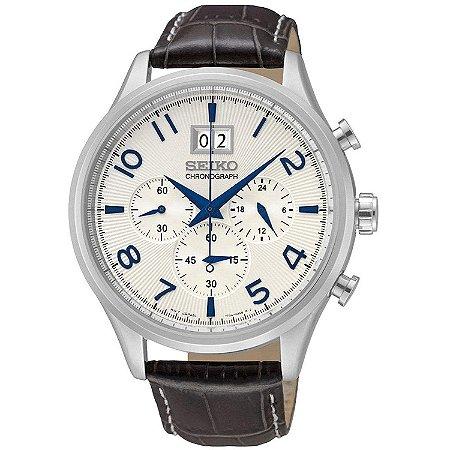 DUPLICADO - Relógio Seiko cronograph QUARTZ  SPC155B1 Masculino