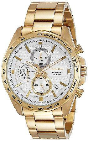 Relógio Seiko cronograph QUARTZ SSB286B1 masculino
