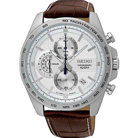 Relógio Seiko cronograph QUARTZ SSB263B1 masculino